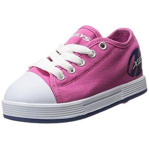 Heelys Fresh, Sneaker Bas du Cou Mixte Enfant, Fuchsia/Navy, 33 EU