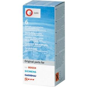 Bosch 6 pastilles détartrantes spéciales Tassimo