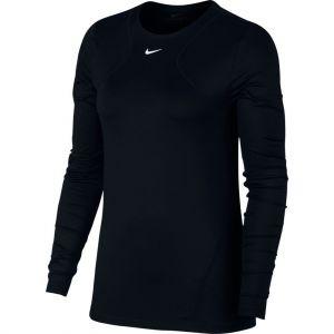 Nike Haut en meshà manches longues Pro pour Femme - Noir - Taille XL - Female