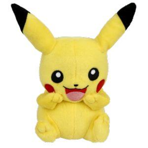 Peluche Pikachu Laughing (20 cm)