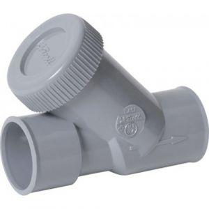 Nicoll CASH4 - Clapet anti-retour sanitaire à 45° diamètre 40
