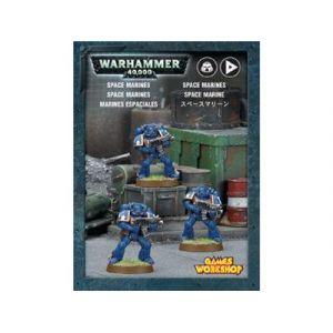 Games Workshop SPACE MARINES (WARHAMMER 40 000)