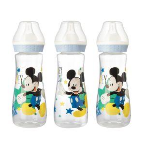 Lot de 3 biberons Mickey Bloom 250 ml