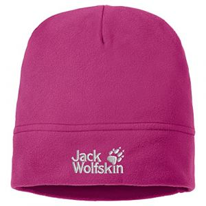 Jack Wolfskin Real Stuff Casquette Bonnet, Framboise, Taille Unique, Mixte, Real Stuff Cap, Fuchsia