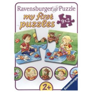 Ravensburger 9 puzzles My First Puzzle Petits aventuriers