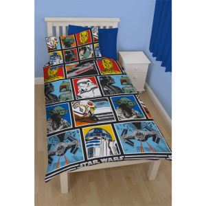 Character World Star Wars Force - Housse de couette et taie (135 x 200 cm)