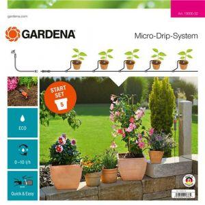 Gardena Kit démarrage Micro-Drip S pour plantes en pot