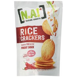 N.a! Rice Crackers Galettes de Riz Piment Doux 70 g
