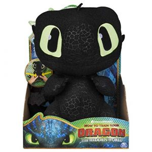 Peluc re Dragons 3 Deluxe Krokmou 36 cm