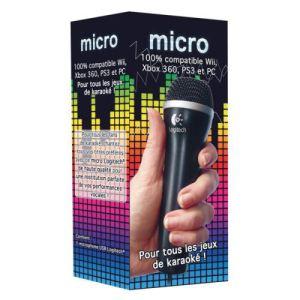 Logitech Micro pour Wii, Xbox 360, PS3 et PC