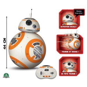 Giochi Preziosi BB8 Robot Droid Star Wars télécommandé