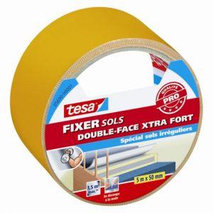 Tesa Adhésif double face pour sols FIXER extra-fort 5m