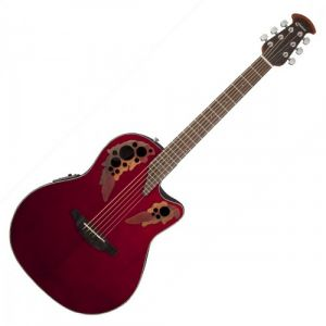 Ovation CE44-RR Celebrity Elite Ruby Red