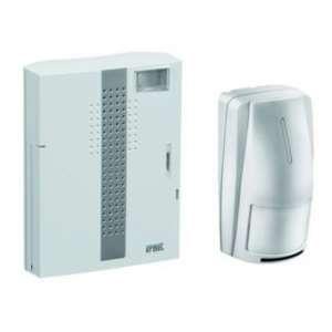 Urmet Kit carillon sans fil portée 250 mêtres avec flash et détection de mouvement -
