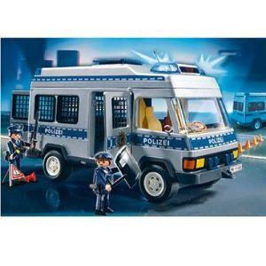 Playmobil 4023 - Fourgon équipé et policiers