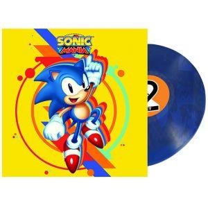 Just for Games Vinyle BO - SONIC MANIA Translucent Blue Album