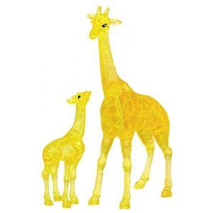 HCM Kinzel Puzzle 38 Pièces 3d Crystal Puzzle - Girafes