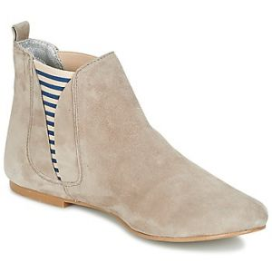 1f55c3b6d49f4 Ippon Vintage Patch-Flyboat, Bottines Chelsea Femmes, Beige (Ciment), 40