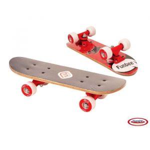 D'arpeje Outdoor Mini Skate Erable 17 pouces Rouge