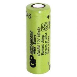 GP Batteries Pile rechargeable spéciale 2/3 R03 à tête plate NiMH GP40AAAM 1.2 V 400 mAh