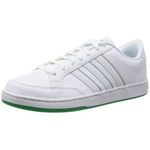 Image de Adidas Courtset, Mocassins Homme, Blanc-Weiß (Ftwwht/Ftwwht/Green), 42 2/3 EU
