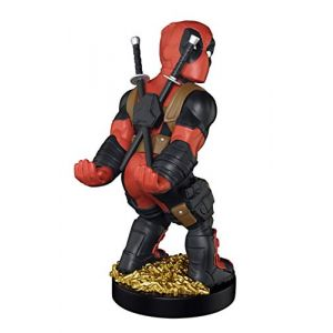 Exquisite Gaming Figurine Cable Guy Deadpool Montre ses Fesses Support pour Manette/Smartphone