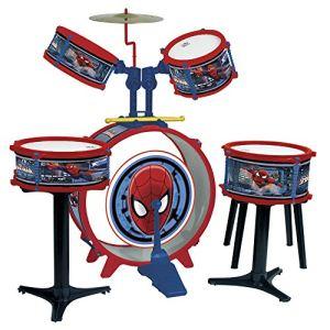 Reig Musicales 551 - Batterie Spider-Man complète 5 éléments