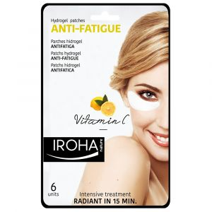 Iroha Patchs hydrogel anti-fatigue yeux vitamine C