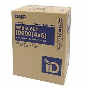 Dnp Papier Thermique pour ID600 - 10x15cm 350 Photos