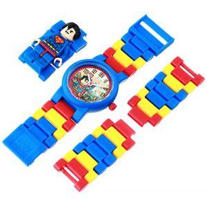 Lego Montre figurine Superman de DC Comics Super Heroes 8020257 pour enfant à construire