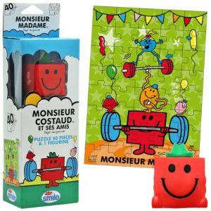 Abysmile Puzzle Monsieur Madame : M. Costaud 40 pièces