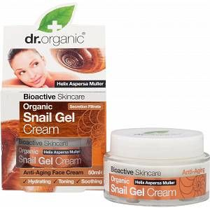 Dr. Organic Crème Anti-Âge au Gel d'Escargot Bio