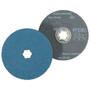 Pferd 64290108 - Disque fibre combiclik diamètre 125 mm grain 80