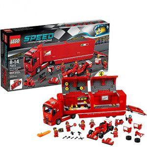 Lego 75913 - Speed Champions : F14 T et son camion Scuderia Ferrari