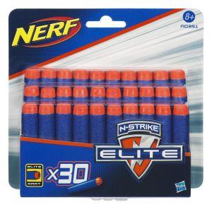 Hasbro A0351E350 - 30 fléchettes de recharge pour Nerf Elite