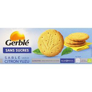 Gerblé Sans Sucres Saveur Citron Yuzu Le Paquet 132 g