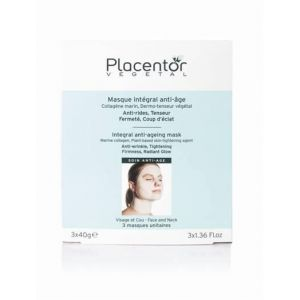 Placentor Vegetal Masque integral anti age 3 sachets