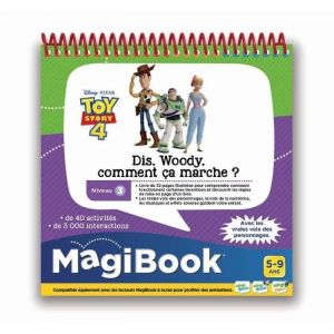 Vtech MAGIBOOK - TOY STORY 4 - Dis Woody, Comment ça marche ?