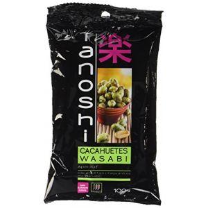 Tanoshi Cacahuètes au wasabi - Le sachet de 100g