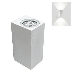 Silamp Applique murale LED B18 6W IP44 BLANC