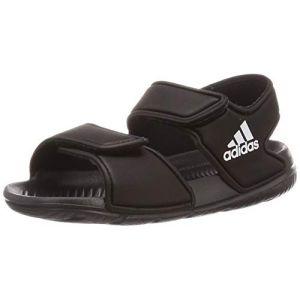 Adidas Altaswim I, Basket Mixte Enfant, Noir(Core Black/FTWR White), 20 EU