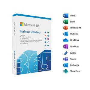 Logiciel Abonnement 365 Business Standard (12 mois - 1 utilisateurs) [Windows]