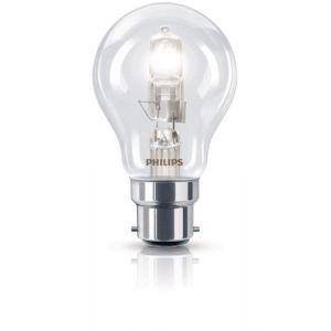 Philips 925693444204 - Ampoule Eco-Halogène Standard Culot B22 53 Watts consommés (Equivalence incandescence 70W)