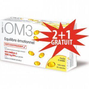 isodisnatura OM3 Équilibre Émotionnel - 180 capsules