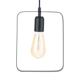 Eglo Lampe suspendue BEDINGTON 20 cm Noir 49776