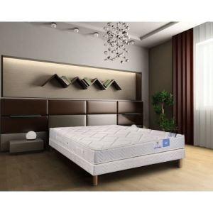 ensemble matelas ressorts et sommier avec 4 pieds 160 x 200 cm comparer avec. Black Bedroom Furniture Sets. Home Design Ideas