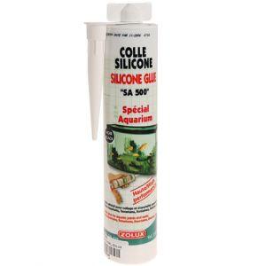 Zolux Colle silicone glue spécial aquarium terrarium type tube 310 ml