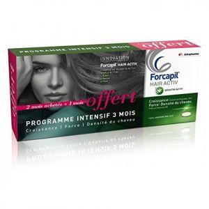 Image de Arkopharma Forcapil Hair Activ - Programme Intensif 3 mois