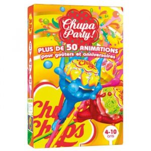 Chupa Chups Chupa Party - Jeu de 54 cartes