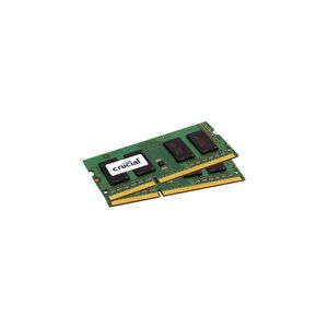 Crucial CT2KIT102464BF186D - Barrette mémoire 8 SO-DIMM 16 Go (2 x 8 Go) DDR3L 1866 MHz CL13